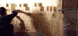 Pemasangan bata menggunakan fire mortar